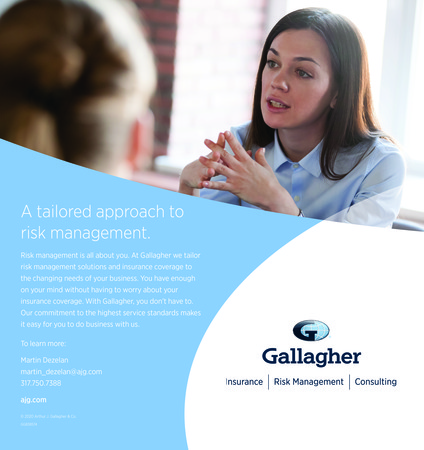 Gallagher Updated Full Page Ad For Power Connection And All Newsletters