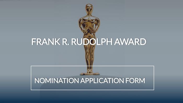 Frank R. Rudolph Award Banner