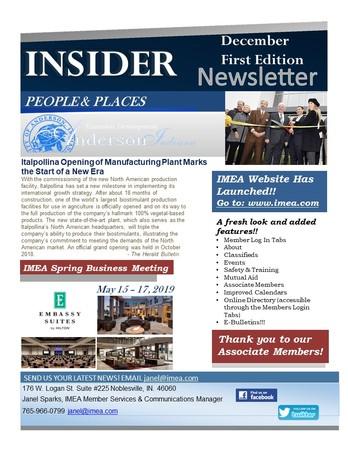 December Insider 1st Edition