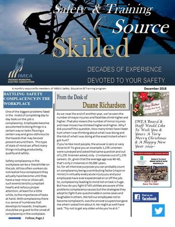 December Safety & Training eSource Newsletter