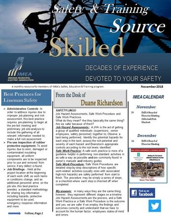 November Safety & Training eSource Newsletter