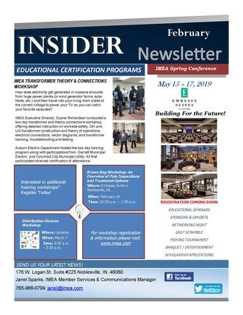 February Insider Newsletter