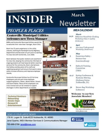 March  Insider Newsletter