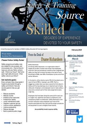 February Safety & Training eSource Newsletter