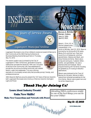 May Insider Newsletter