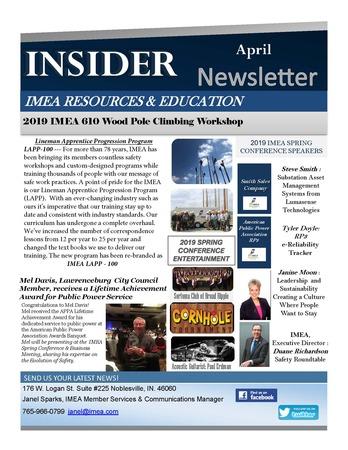 April Insider Newsletter