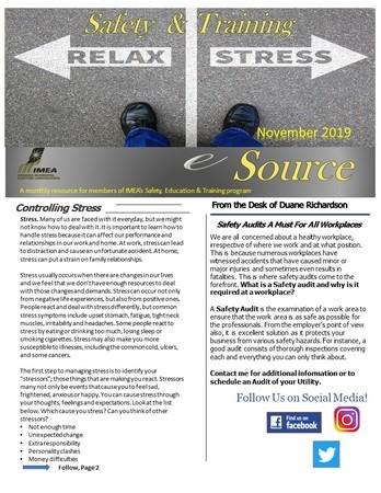 November Safety & Training eSource