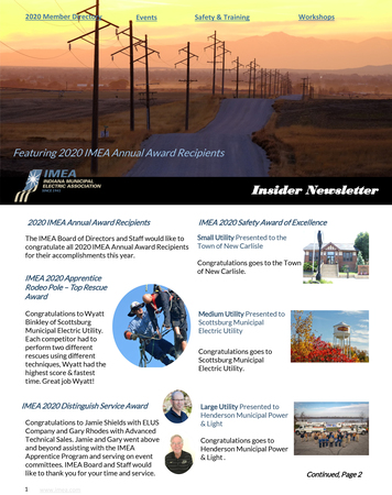 October Insider Newsletter